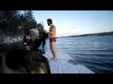 Юра В. - Хорошо быть Русским-можно зимой купаться:))